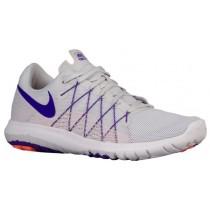Nike Performance Flex Fury 2 - Pure Platinum/Fierce Purple/Atomic Pink/White - Women's Competition Running Shoes