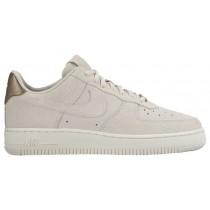 Nike Air Force 1 '07 Low Premium Suede - Gamma Grey/Phantom - Women's Shoes