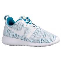 Nike Performance Roshe One Hyper Premium - Ladies Training Shoe - White/Blue Lagoon/Ghost Green
