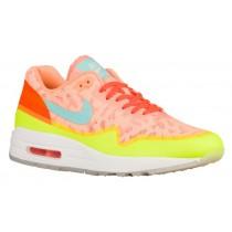 Nike Air Max 1 NS - Women's Shoes - Peach Cream/Hyper Turquoise/Total Orange
