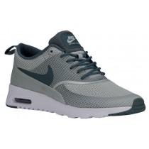 Nike Sportswear Air Max Thea Textile - Light Silver/Hasta/White - Women's Running Shoes