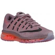 Nike Air Max 2016 - Ladies Running Shoes - Purple Smoke/Hyper Orange/Violet Ash/Black