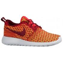 Nike Roshe One Flyknit - Team Red/Bright Crimson/Volt - Women's Training Shoe
