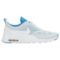 Nike Air Max Thea EM - White/Blue Lagoon/Ghost Green - Women's Running Shoes