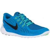 Nike Performance Free 5.0 - Women's Training Shoe - Blue Lagoon/Voltage Green/Copa/Black