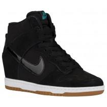 Nike Dunk Sky Hi Essential - Black/Sail/Gum Med Brown - Ladies Sneaker