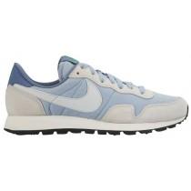 Nike Sportswear Air Pegasus 83 - Women's Running Shoe - Blue Grey/Pure Platinum/Ocean Fog/Spring Leaf