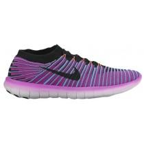 Nike Performance Free RN Motion - Hyper Violet/Gamma Blue/Total Crimson/Black - Women's Running Shoe