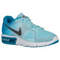 Nike Performance Air Max Sequent - Blue Lagoon/Copa/White/Metallic Dark Grey - Women's Shoes
