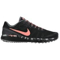 Nike Performance Dual Fusion Trail 2 - Ladies Trail Running Shoes - Black/Cool Grey/Wolf Grey/Atomic Pink