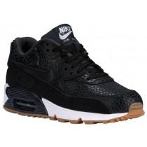 Nike Sportswear Air Max 90 Premium - Women's Running Shoes - Black/White