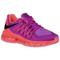 Nike Air Max 2015 - Fuchsia Flash/Hot Lava/Aubergine/Black - Women's Running Shoes