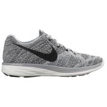 Nike Flyknit Lunar 3 - Wolf Grey/Summit White/Cool Grey/Black - Ladies Shoes