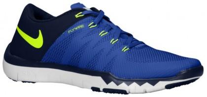 Nike Free Trainer 5.0 V6 - Game Royal/Obsidian/Deep Royal Blue/Volt - Men's Running Shoe