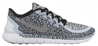 Nike Free 5.0 Print - Porpoise/Cool Grey/White/Reflective Silver - Women's Running Shoe