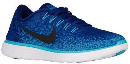 Nike Free RN Distance - Deep Royal Blue/Black/Heritage Cyan/Gamma Blue - Men's Training Shoe