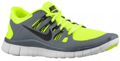 Nike Free 5.0+ - Men's Lightweight Running Shoes - Volt/Cool Grey/Summit White/Black
