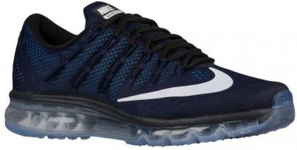 Nike Sportswear Air Max 2016 - Dark Obsidian/Black/Deep Royal Blue/White - Men's Shoes