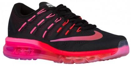 Nike Sportswear Air Max 2016 - Women's Shoes - Black/Noble Red/Bright Crimson/Multi-Color