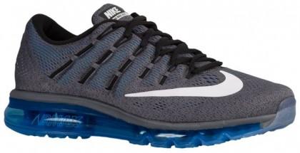 Nike Air Max 2016 - Men's Running Shoes - Dark Grey/Photo Blue/Black/White