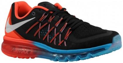 Nike Sportswear Air Max 2015 - Black/Bright Crimson/Blue Lagoon/White - Men's Shoes