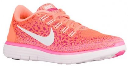 Nike Performance Free RN Distance - Atomic Orange/Fire Pink/Pink Blast/White - Women's Training Shoe