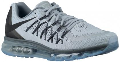 Nike Air Max 2015 - Men's Running Shoes - Wolf Grey/Dark Grey/Cool Grey/Black