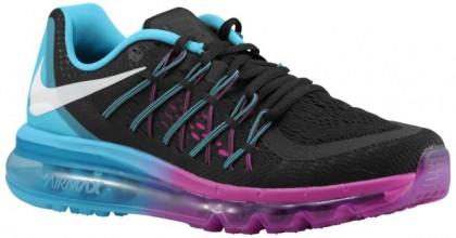 Nike Air Max 2015 - Black/Clearwater/Fuchsia Flash/White - Women's Running Shoes
