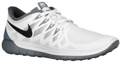 Nike Performance Free 5.0 - Women's Training Shoe - White/Black/Pure Platinum/Clear Grey