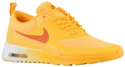 Nike Air Max Thea - Women's Running Shoes - Atomic Mango/Metallic Silver/White/Solar Orange