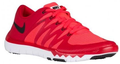 Nike Free Trainer 5.0 V6 - Men's Running Shoe - Gym Red/Bright Crimson/White/Black