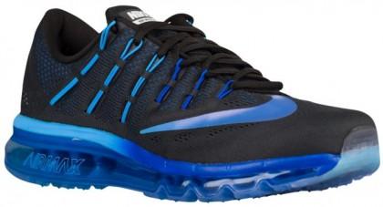 Nike Sportswear Air Max 2016 - Black/Deep Royal Blue/Hyper Blue/Multi Color - Men's Trainers