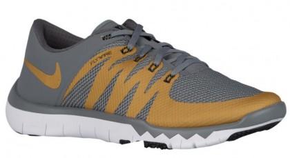 Nike Free Trainer 5.0 V6 - Cool Grey/White/Black/Metallic Gold - Men's Running Shoe
