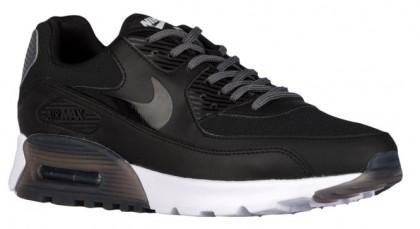 Nike Sportswear Air Max 90 Ultra Essential - Black/Dark Grey/Pure Platinum - Women's Running Shoes