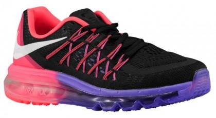 Nike Sportswear Air Max 2015 - Black/White/Hyper Punch/Hyper Grape - Women's Trainers