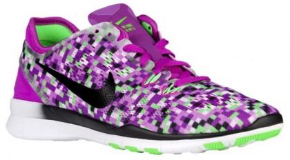 Nike Performance Free 5.0 TR Fit 5 - Vivid Purple/Black/Voltage Green - Women's Training Shoe