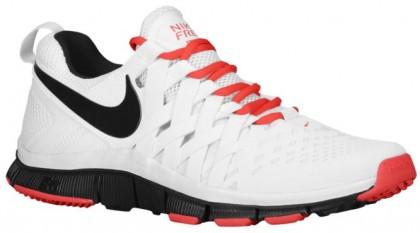 Nike Free Trainer 5.0 Weave - Men's Running Shoe - White/Lt Crimson/Black