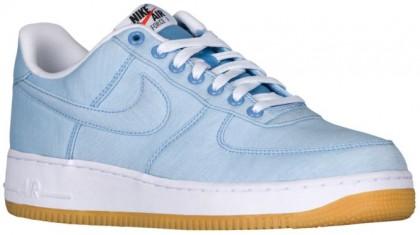Nike Air Force 1 LV8 - Light Blue/White/Gum Light Brown - Men's Shoes