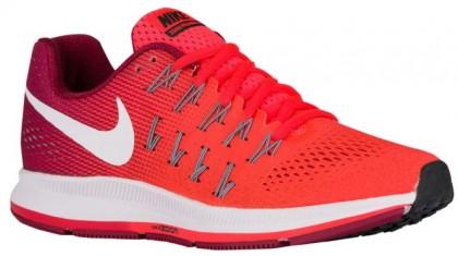 Nike Performance Air Zoom Pegasus 33 Hypernational - Women's Running Shoe - Bright Crimson/Noble Red/Black/White