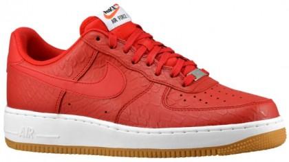 Nike Sportswear Air Force 1 LV8 - Univ Red/White/Gum Light Brown - Men's Sneaker