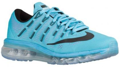 Nike Air Max 2016 - Women's Running Shoes - Gamma Blue/Pink Blast/White/Black