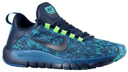 Nike Free Trainer 5.0 Camo - Blue Military - Men's Running Shoe
