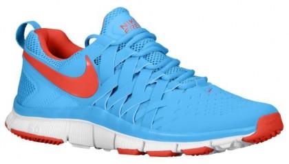 Nike Free Trainer 5.0 Weave - Men's Running Shoe - Vivid Blue/White/Lt Crimson