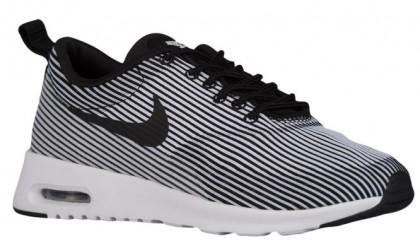 Nike Sportswear Air Max Thea Jacquard - Black/White/Metallic Silver - Women's Trainers