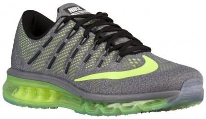 Nike Air Max 2016 - Black/Wolf Grey/Volt - Men's Running Shoes