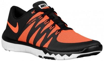Nike Free Trainer 5.0 V6 - Men's Running Shoe - Total Orange/Tumbled Grey/Lunar Grey/Volt