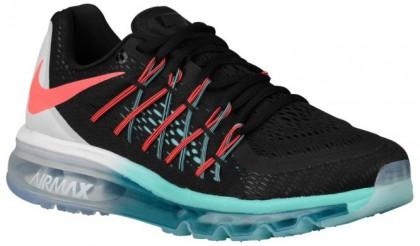 Nike Air Max 2015 - Black/White/Light Aqua/Hot Lava - Women's Running Shoes