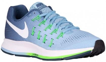 Nike Performance Air Zoom Pegasus 33 - Bluecap/Ocean Fog/Rage Green/White - Women's Running Shoe
