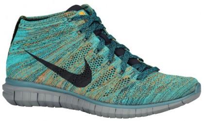 Nike Free Flyknit Chukka - Mineral Teal/Dark Obsidian/Hyper Jade/Copper - Men's Training Shoe