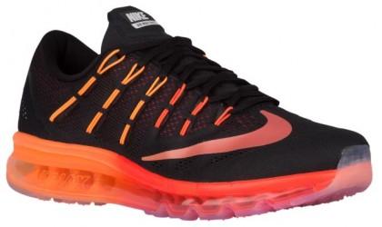 Nike Air Max 2016 - Black/Noble Red/Total Crimson/Multi Color - Men's Running Shoes
